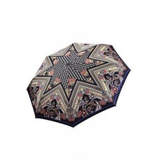 Пестрый автоматический женский зонт Fabretti