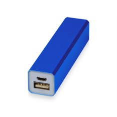 Синее портативное зарядное устройство Брадуэлл 2200 mAh
