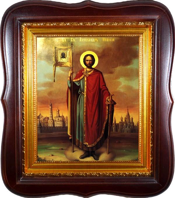 Александр Невский. Икона Святого благоверного великого князя