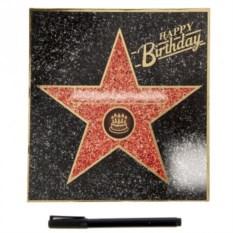 Диплом-открытка Звезда Happy birthday