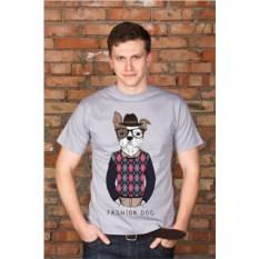 Мужская футболка с вашим текстом Модник
