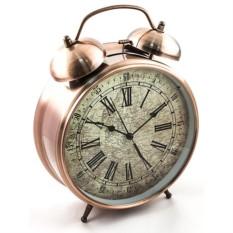 Часы - Будильник ГИГАНТ розовый