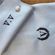 Вышивка инициалов и вензеля на вашей рубашке