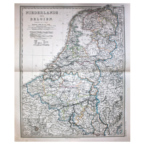 Карта «Нидерланды и Бельгия»