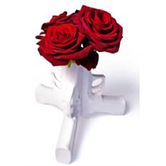 Настольная ваза для цветов 3d gun