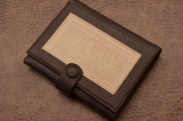 Портмоне Magistro (Темно-коричневый, кожа)