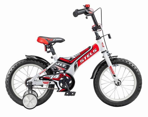 Велосипед 12 Jet с 1 скоростью и стальной рамой STELS