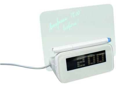 USB разветвитель на 4 порта с часами и экраном для записей