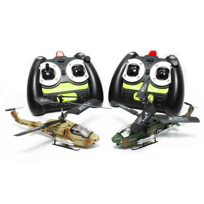 Радиоуправляемый вертолетный бой Gyro-Battle