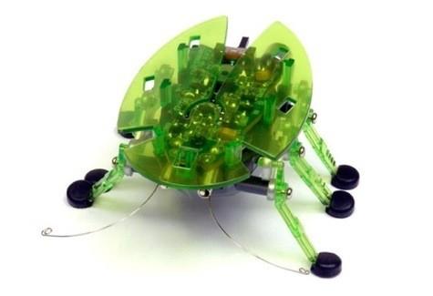 Микроробот Жук, светло-зеленый