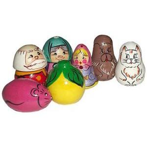 Детская игрушка Пальчиковый театр Репка 7 кукол