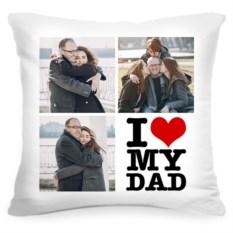 Подушка с вашим фото I love my dad