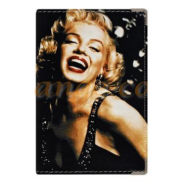 Обложка для паспорта «Улыбка Монро»