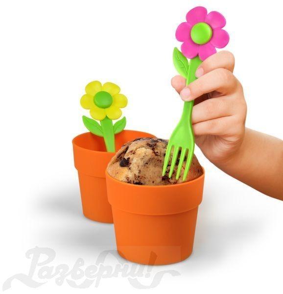Форма для выпечки Цветочный кекс Neat Eats