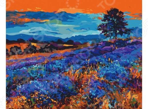 Набор для живописи по номерам Белоснежка Лавандовые поля