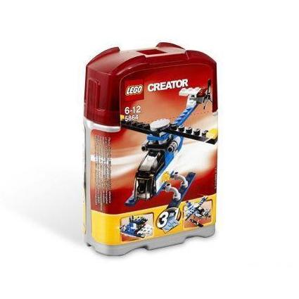 Lego Creator «Мини вертолёт, самолет, катер»