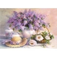 Пазл 1000 деталей Castorland День цветов