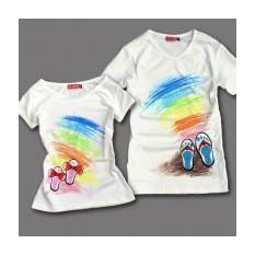 Парные футболки В ожидании лета