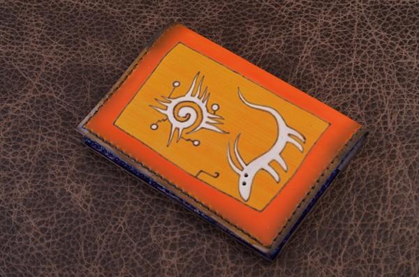 Обложка для паспорта из кожи Altamira
