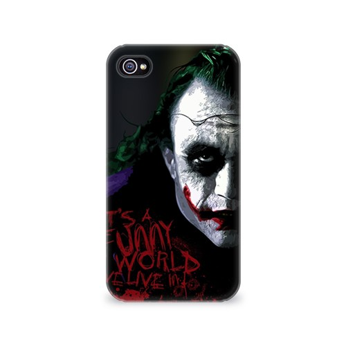 Чехол для Apple iPhone 4/4S 3D Джокер