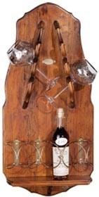 Настенная подставка для 4-х бутылок Muro