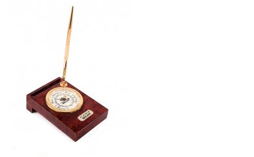 Настольный барометр с ручкой Де-Лонг (BRIGANT)