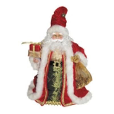 Новогодний мягкий Дед Мороз под ёлку