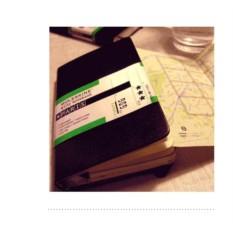 Записная книжка Сity Notebook (Athens) от Pocket