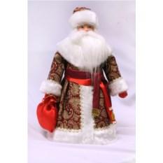 Конфетница Дед Мороз с мешком подарков