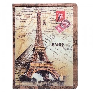 Чехол для iPad 2/iPad 3/iPad 4 Symbol of Paris Post cards