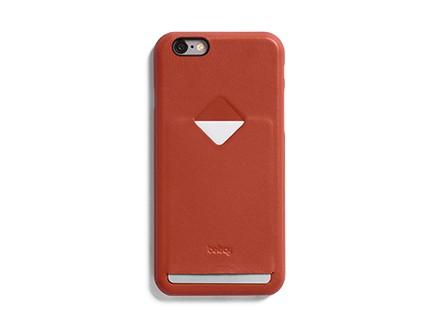 Коричневый кожаный чехол Bellroy Case для Phone i6/i6s