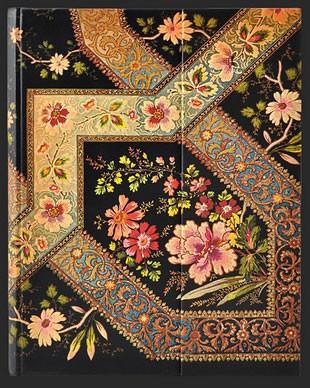 Записная книжка Филигранный цветочный рисунок