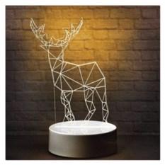 3D-светильник на 3 цвета