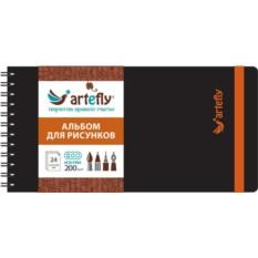 Черный скетчбук Artefly
