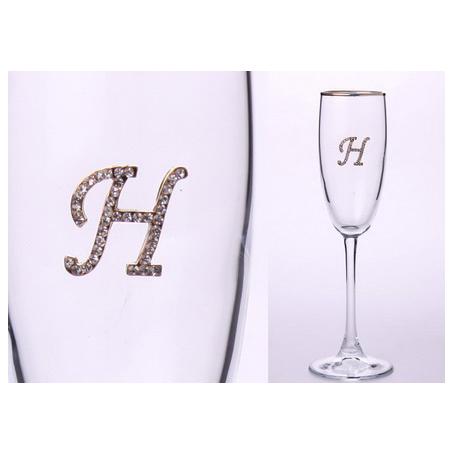 Бокал для шампанского «Н»