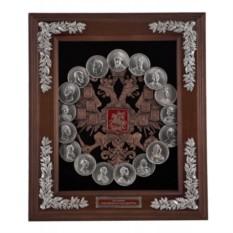 Настенная ключница Медали. Династия Романовых