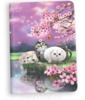 Обложка для паспорта «Цветы вишни»