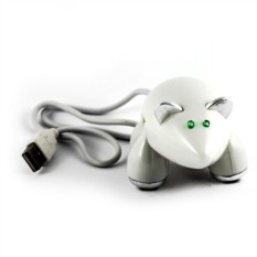 Разветвитель HUB Мышь белая