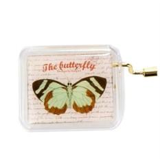 Музыкальная коробочка Butterfly Brown