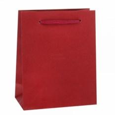 Красный подарочный пакет