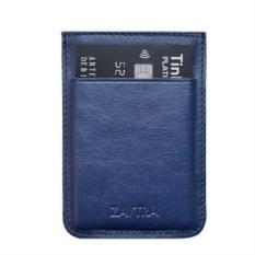 Синий минималистичный кошелек Zavtra