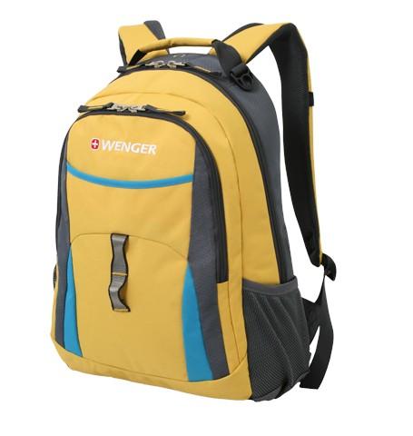 Желтый рюкзак Wenger