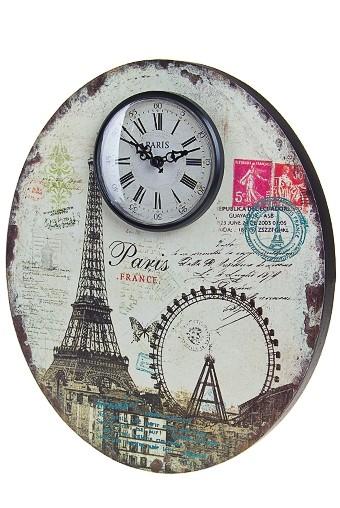 Настенные часы Панорама Парижа