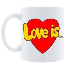 Кружка Love is ...