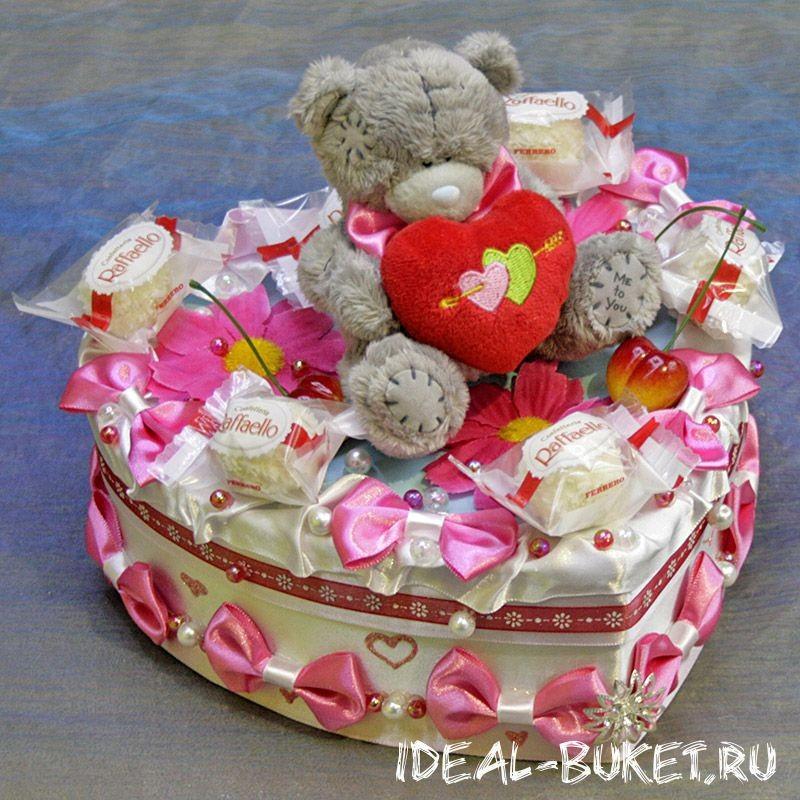 Шкатулка из конфет Любовь