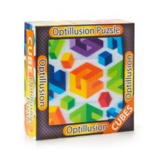 3D пазл-игра Оптические иллюзии: Кубы