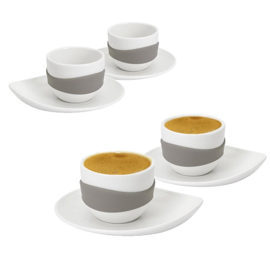 Набор чашек для эспрессо Leaf