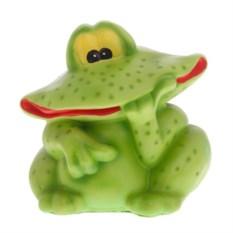 Декоративная садовая фигура Печальный лягушонок