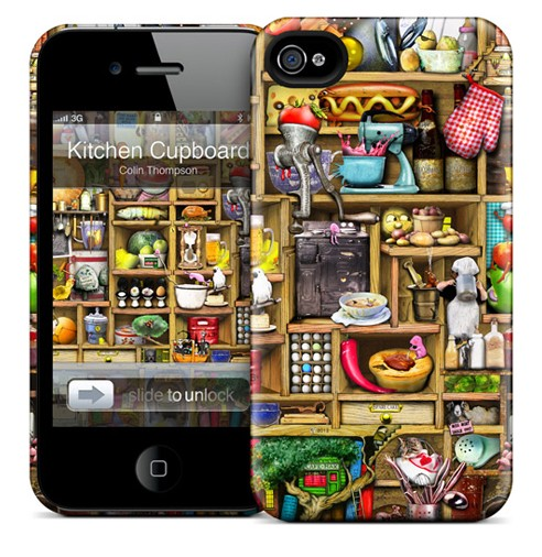 Чехол для iPhone 4/4S Gelaskins Kitchen Cupboard