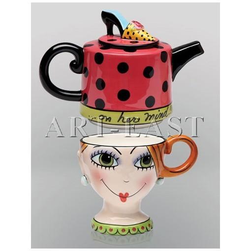 Чайный набор «Дама»